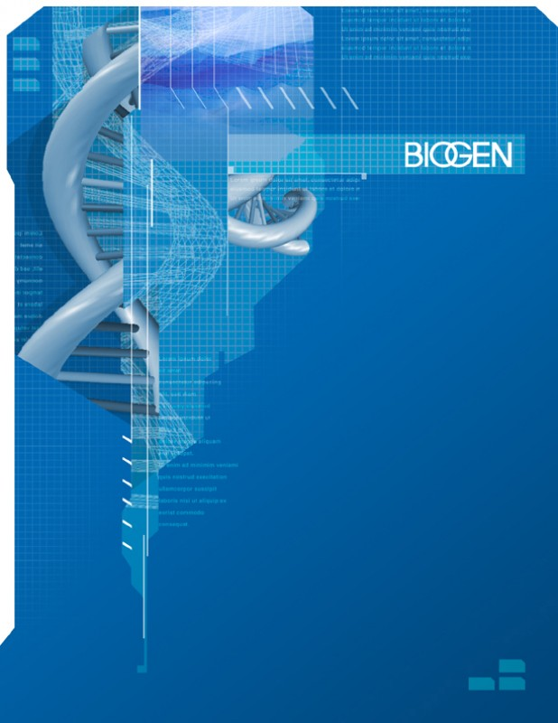 Biogen's Corporate Annual Report Design