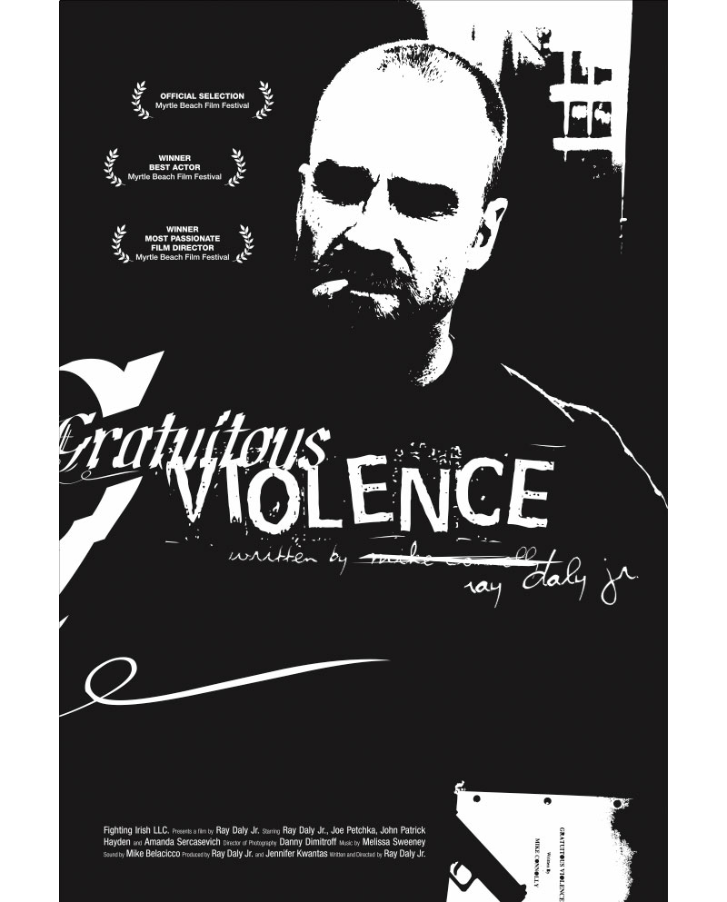Gratuitous Violence Movie Poster Design