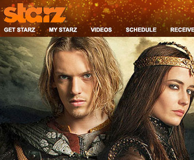 starz email template