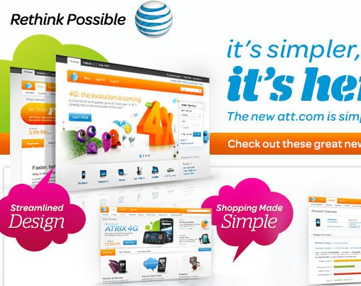 at&t email marketing creative
