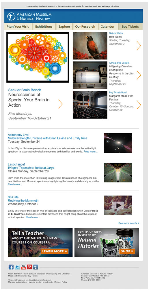 museum-natural-history-newsletter