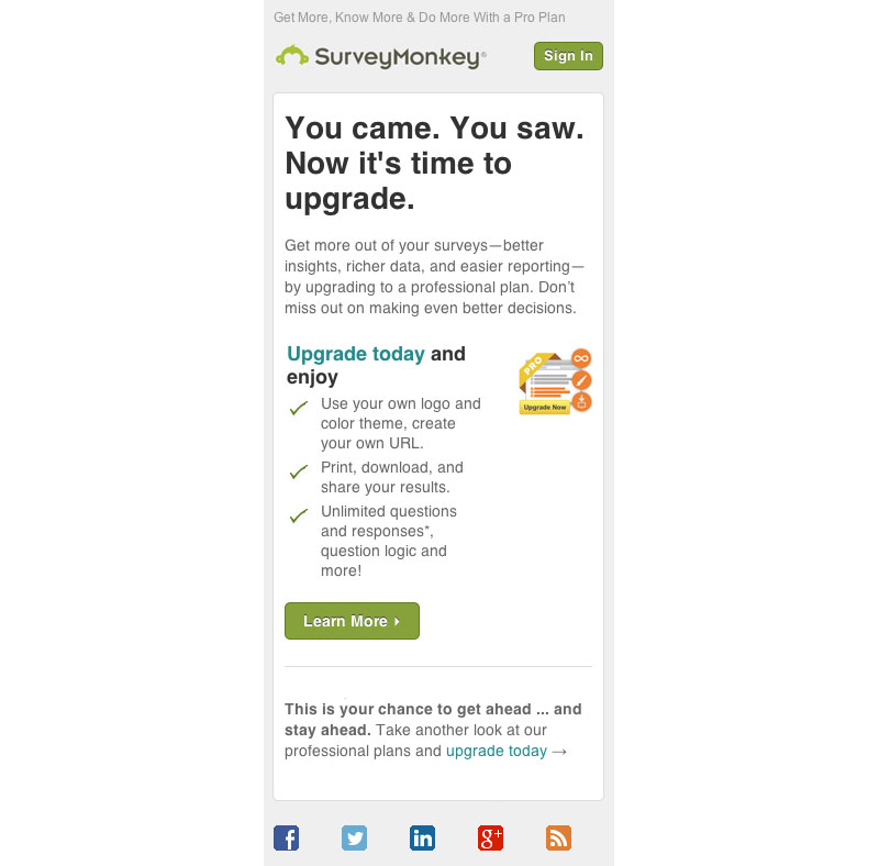 surveymonkey responsive upgrade